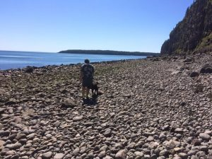 On the Shores of Grand Manan