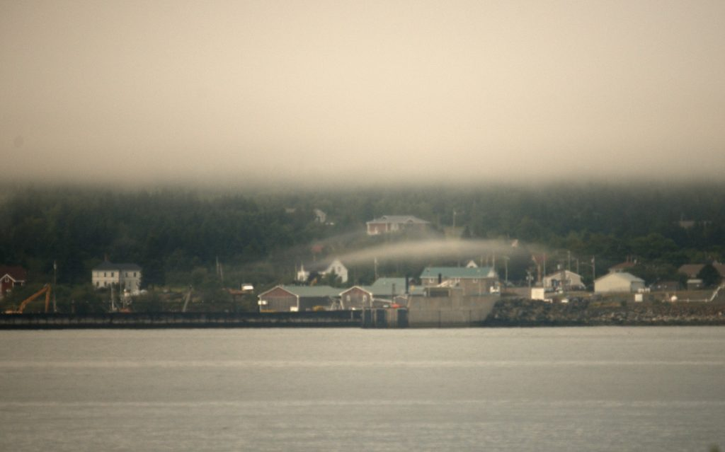Fog Over North Head
