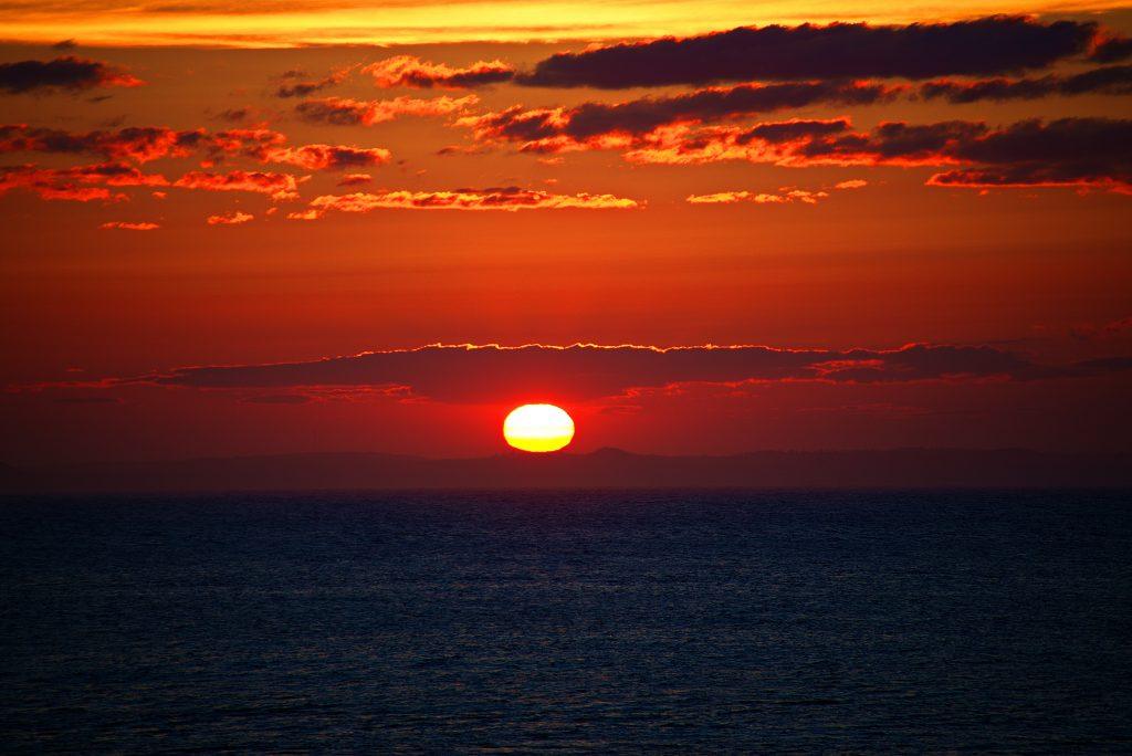 Sunset at Dark Harbour