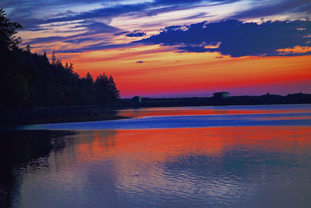 Dark Harbour Sunset