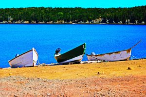 Dories at Whale Cove